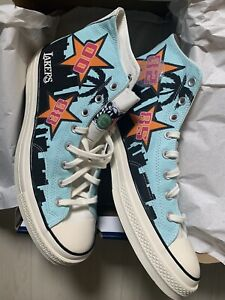 Comverse Chuck Taylor All Stars 70 High LAKERS 3 In A Row Commemorative Size 13