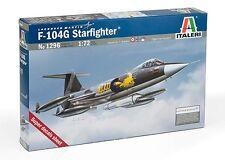 Italeri 1296 1/72 Aircraft Model Kit Lockheed F-104 Starfighter F-104G Recce