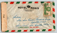 Mexico 1940s Censor Airmail Cover to Cosa Rica - Z13633