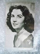 Real Photo Postcard- ELIZABETH TAYLOR, British-American actress, Metro Goldwyn M