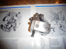 DAVENPORT  P/N #2861-SA  TURNING TOOL HOLDER WITH ROLLER BACK RESTS & STOCK STOP