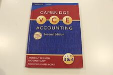Cambridge VCE Accounting Units 3 and 4: Units 3&4 by Richard Hardy, Anthony...