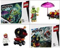 LEGO Hidden Side 30463 & 30464 El Fuego's Stunt Cannon & Enzo's Haunted Hotdogs