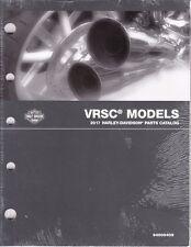 2017 Harley VRSC VRSCDX VRSCF Part Parts Catalog Manual Book 94000409
