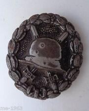 original  Verwundetenabzeichen schwarz 14 18  Eisen geschwärzt