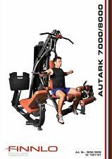 Finnlo Autark 7000 8000 Manuale di assemblaggio Multi Gym