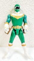 "Vintage 1996 Bandai Power Rangers Zeo Green Ranger 5"" Loose Action Figure"