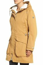 HELLY HANSEN 'Kara' Waterproof Parka Coat- Brunette Brown NWT MSP $350 Size XL
