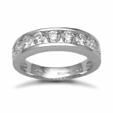 Anniversary Eternity White Gold Fine Diamond Rings