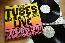 The tubes Live 2lp A & M amlm 68460 OIS EX +/NM