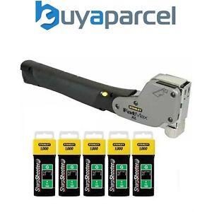 Stanley 0-PHT350 FatMax XL Hammer Tacker & 5000 10mm Staples 1-TRA706T