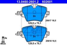 Bremsbelagsatz, Scheibenbremse für Bremsanlage Vorderachse ATE 13.0460-2601.2