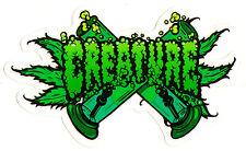 Creature Skateboard Sticker - OG Kush bong weed cannabis skunk ganja spliff