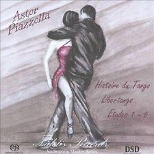 Astor Piazzolla: Histoire du Tango; Libertango; Etudes 1-6 Super Audio Hybrid CD (CD, Feb-2011, Fidelis Records)