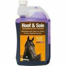 New Horse Cob Pony NAF Hoof & Sole Strengthens & Cleanses 01ltr