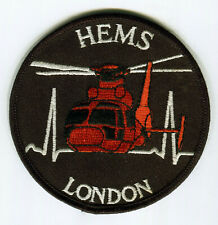 Original Vintage British HEMS London Helicopter Emergency Medical Service Patch