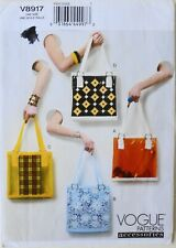 Vogue 8917 Misses Bags Sacs A Main 4 Designs Sewing Pattern