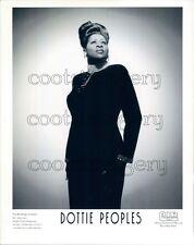 1997 Gospel Singer Dottie Peoples Press Photo