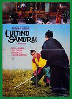 S05 Manifesto DIE LETZTE Samurai Toshiro Mifune Masaki Kobayashi Tatsuya Nakaday