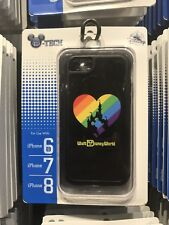 Disney Magic Kingdom Rainbow Pride Mickey Apple iPhone 6 6s 7 8 Phone Case
