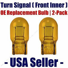 Front Inner Turn Signal Light Bulb 2pk - Fits Listed BMW Vehicles - 7440NA