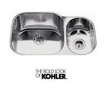 Kohler Icerock 1.5 Bowl Stainless Steel Undermount sink