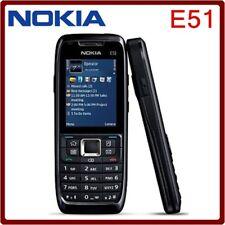Nokia E Series E51 Black Steel (Unlocked) WIFI bluetooth JAVA durabl Smartphone