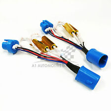 HID LED Resistor Kit Relay Harness Adapter Anti Flicker Error Decoder 9007 9004