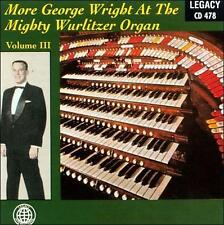 More George Wright, Vol. 3 1999 by George Wright; Adler, Richard [Composer]; Ano