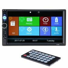 Car Multimedia Player HD Rear View Camera Bluetooth Stereo Radio FM MP3 MP5 DVD
