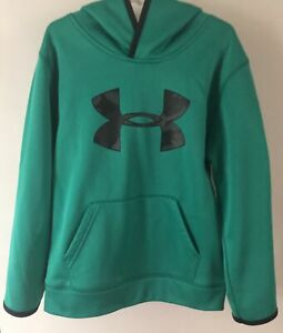 UNDER ARMOUR Kids Jade Green Pullover Hoodie~~Size 6