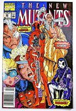 New Mutants #98 Newsstand 1st Deadpool Appearance Hot Key No Reserve!! CGC IT!