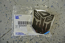 2010-15 Camaro Transformers Autobot Bumblebee Fender Emblem Badge GM 92242457