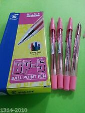 6 pcs x Pilot BPS Fine 0.7mm Ball Point Pen PINK ink   **Great SALES