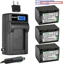 Kastar Battery LCD AC Charger for Sony NP-FV70 Sony DCR-SX15 DCR-SX20 DCR-SX21