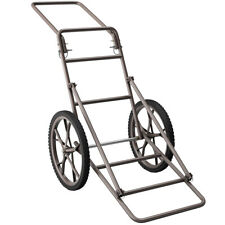 Huge Capacity Deer Cart Foldable 500lbs Hauler Gear Dolly Cart Hunting Practical