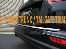 CHROME TAILGATE TRUNK TRIM MOLDING ACCENT KIT FOR03