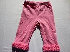 "Gymboree ""Butteryfly Blossoms"" Pink Ruffled Capris Leggings, 18-24 mos."