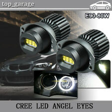 160W CREE Angel Eye LED Halo Ring Bulbs For BMW E90 2006-2008 323i 328i 330xi