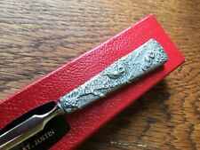 More details for vintage owl sculpted antlerite paper knife/letter opener