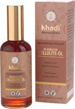 Khadi Natural 10 Herbs Cellulite Oil 100ml FREE **P&P**