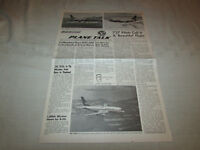 Boeing Plane Talk News Newsletter 737 TEST FLIGHT Wichita KS Apr.13, 1967 -RARE!