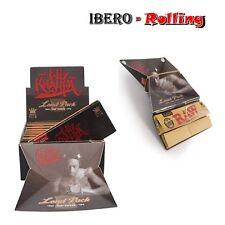 Papel natural RAW + TIPS  WIZ KHALIFA Caja 15 - 32 libritos tamaño king size