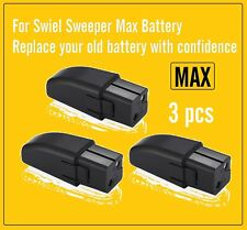 New 3x Walter Swivel Sweeper Battery Max for Replace Swivel Sweeper Max Battery