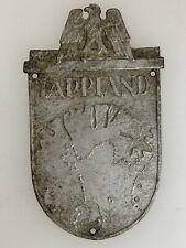 WWII Germany/German LAPPLAND or Lapland battle shield award.