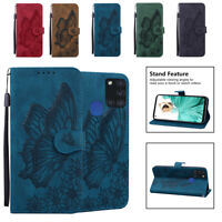 For Samsung Galaxy A11 A21 A71 A51 A42 A12 Magnetic Leather Wallet Flip Case