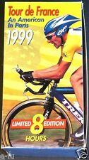 1999 TOUR DE FRANCE Lance Armstrong An American In Paris 4 VHS Tape Set 8 hours