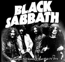 BLACK SABBATH Walpurgis CD 1970 Peel Sessions & Beat Club TV Live rare versions