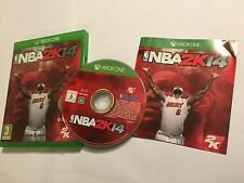 PAL XBOX ONE 2014 BASKETBALL GAME NBA 2K14 NBA2K14 DISC IN EXCELLENT CONDITION