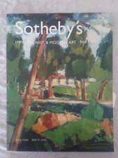 CATALOG SOTHEBY'S  Impressionist & Modern Art Part Two 2002 Ships in 24 hours!